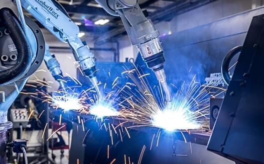 Robotické zváranie